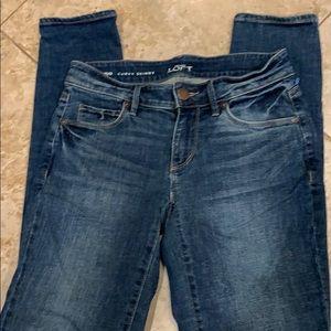 Loft skinny jean